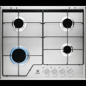 Plita gaz Electrolux KGS6424SX 60cm inox
