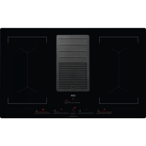 Plita inductie cu hota incorporata AEG IDK84453IB 83cm negru