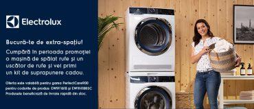 elx campanie intelo770 370x159 - Promoție - Mașină de spălat rufe + uscător rufe